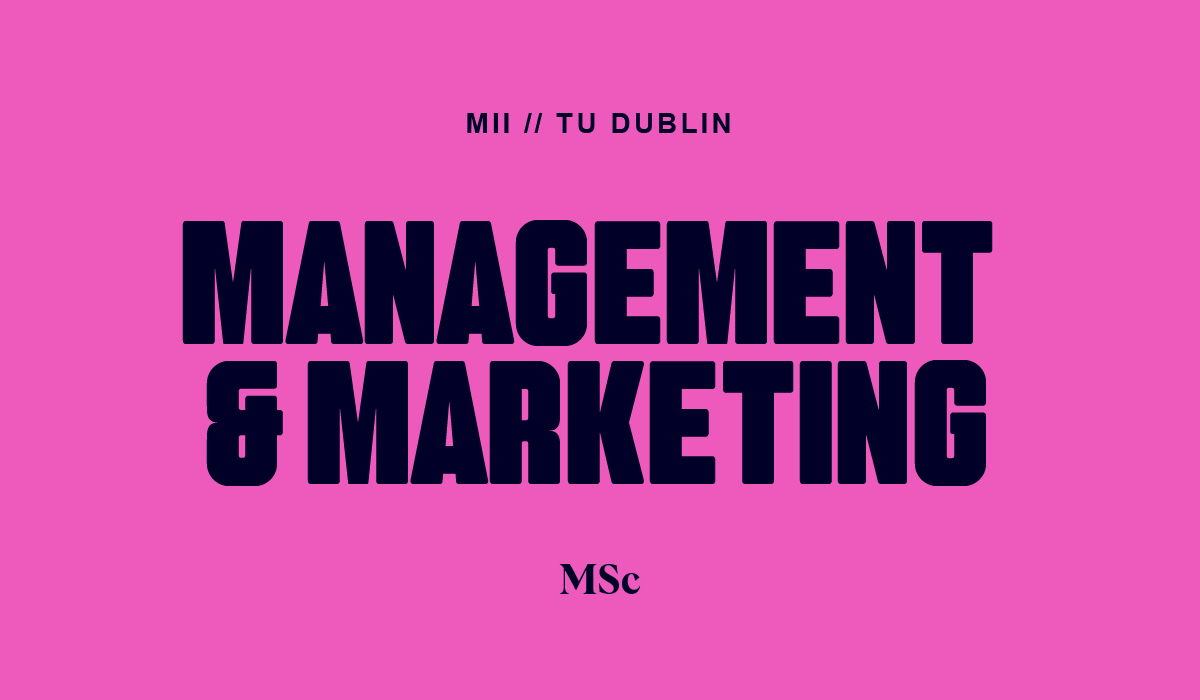 MSc in Management and Marketing