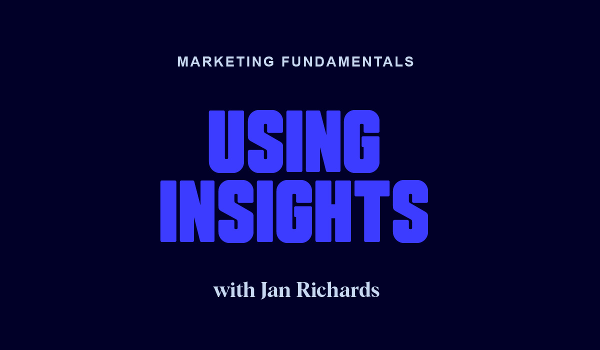 Using Insights to Gain a Competitive Advantage
