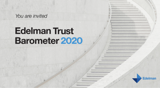 Results of the Edelman Trust Barometer 2020