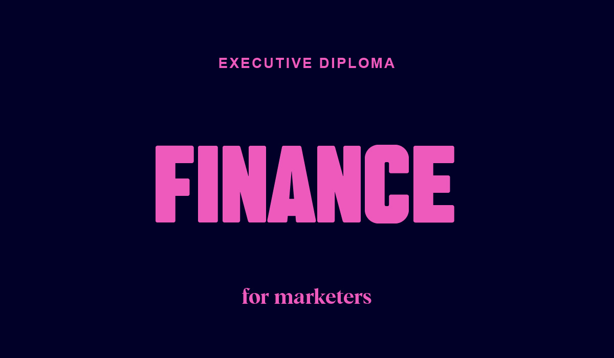 Executive Diploma in Finance for Marketers