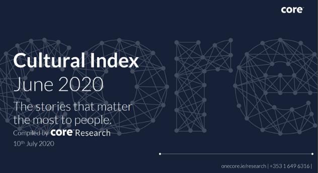 Core Cultural Index June 2020