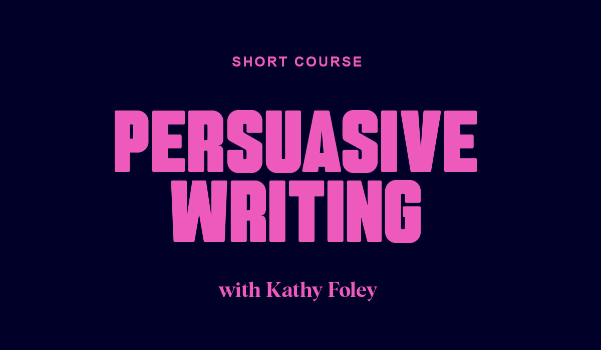 Persuasive Writing for Marketers