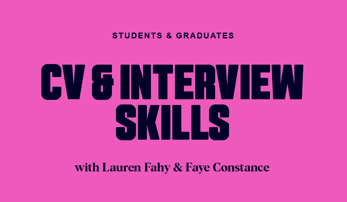 CV Building & Interview Skills for Graduates
